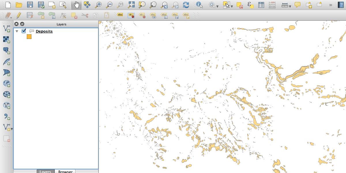 Visualizing Landslide Data Part 1 - QGIS and GeoJSON